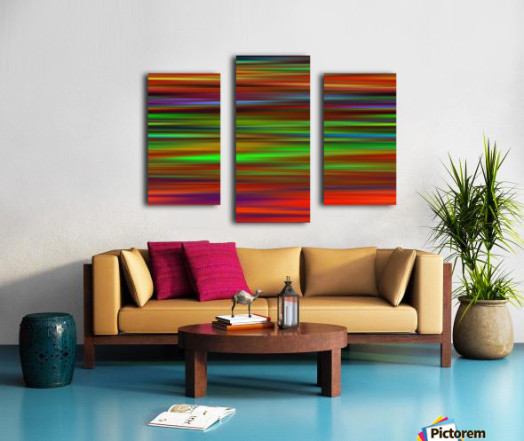 Colorful Lines Canvas print