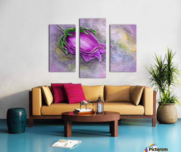 Dreamy Rose Canvas print