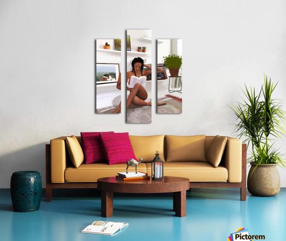 Self Love Canvas print