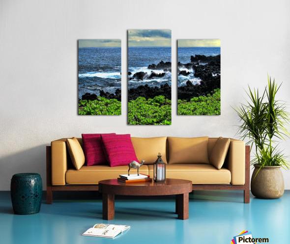 Hana Beach Hawaii Canvas print
