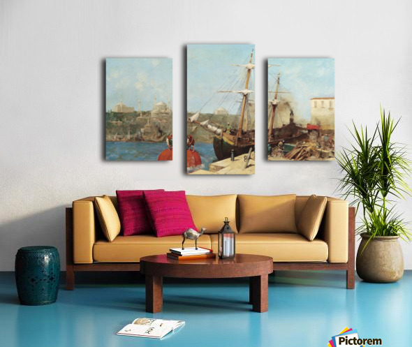 Am Goldenen Horn Canvas print
