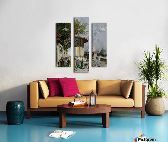 Fontana turca Canvas print