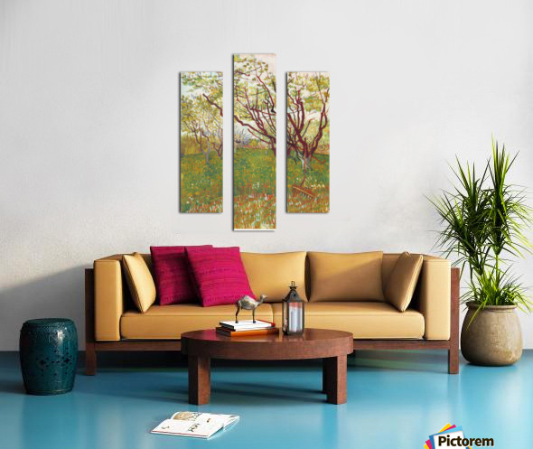 Cherry Tree by Van Gogh Canvas print