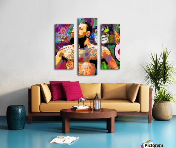 CHAM CHAMP Canvas print