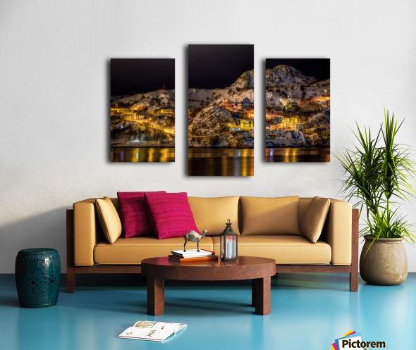 Across the Harbour Canvas print