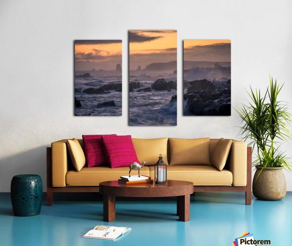 Unforgiving Seas Canvas print