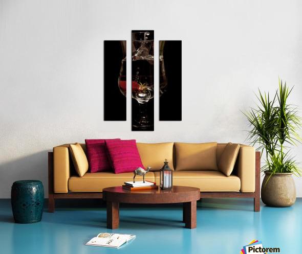 Tempete Canvas print