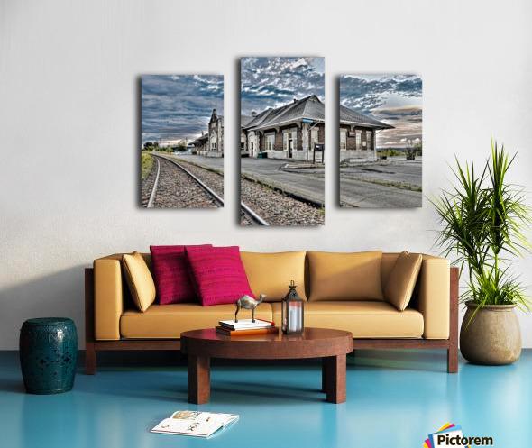 Gare Canvas print
