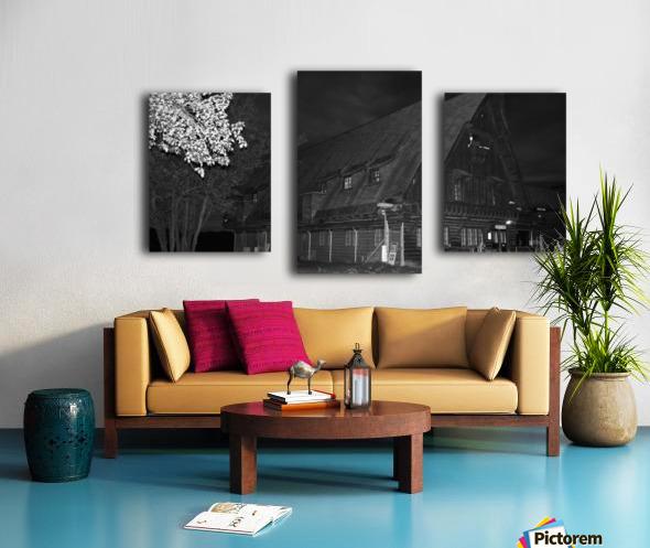 Poste daccueil Canvas print