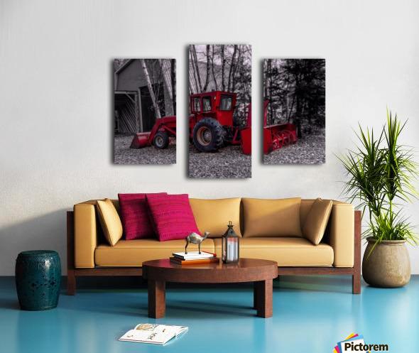 Contraste Canvas print