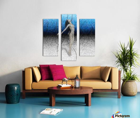 Ascension - Blue Canvas print