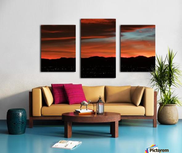 SkyFire Impression sur toile