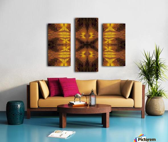 Spiritual Sunshine  21 Canvas print