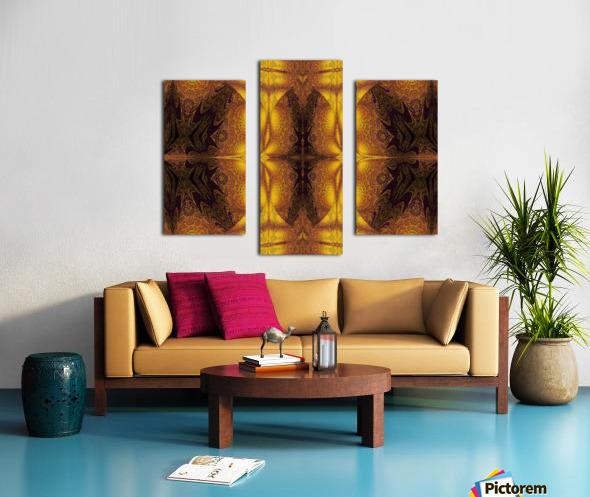 Spiritual Sunshine  22 Canvas print