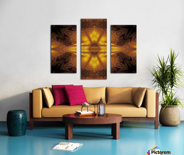Spiritual Sunshine  23 Canvas print
