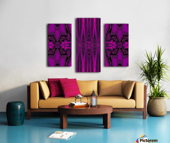 Purple Desert Song 1 Canvas print