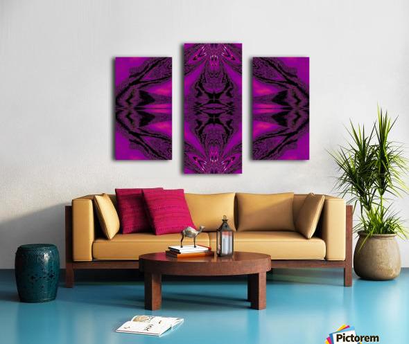 Purple Desert Song 7 Canvas print