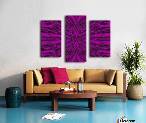 Purple Desert Song 8 Canvas print
