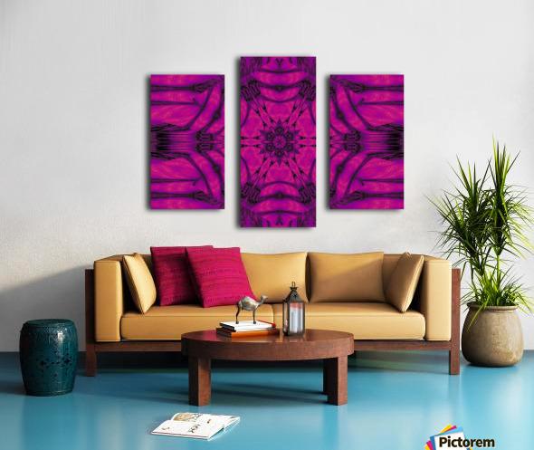 Purple Desert Song 19 Canvas print
