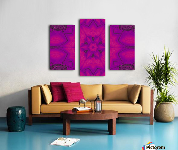 Purple Desert Song 29 Canvas print