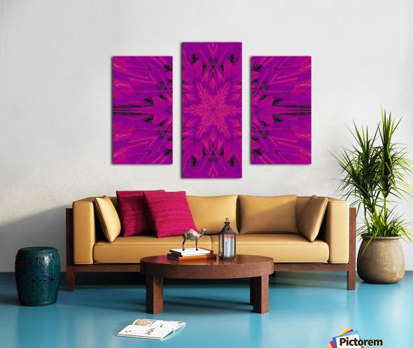 Purple Desert Song 45 Canvas print