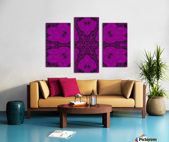 Purple Desert Song 47 Canvas print