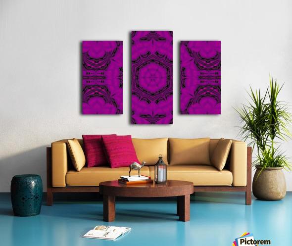 Purple Desert Song 48 Canvas print