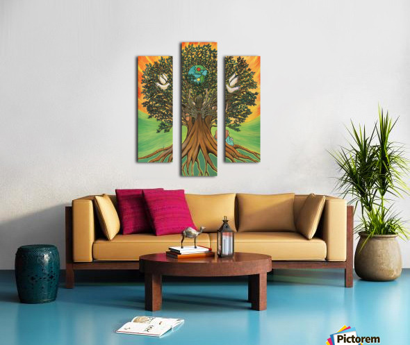 Rooted In The Tree Of Humanity Canvas print