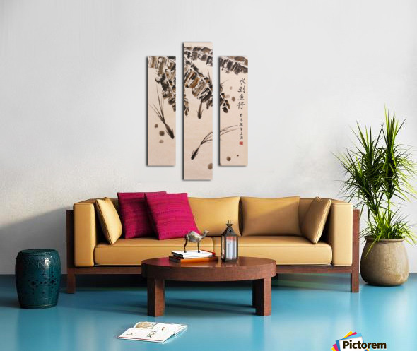 Three Little Fish Canvas print