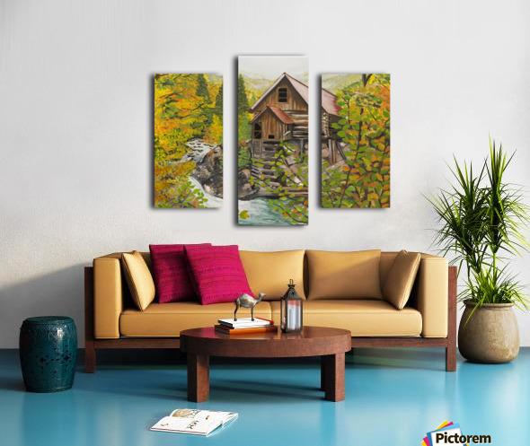 Crystal Hideaway Canvas print