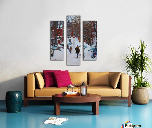 Lorn Avenue McGill Ghetto Canvas print
