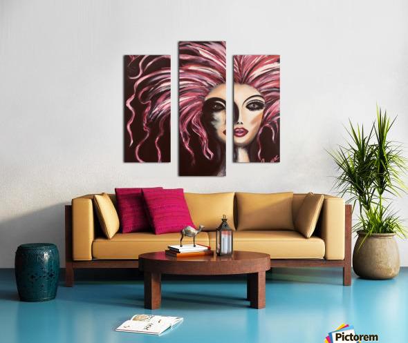 Burlesque Canvas print