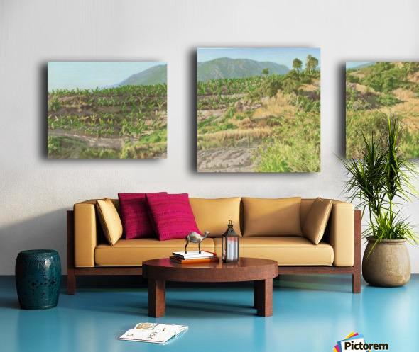 Foothills_In_Turkey Canvas print