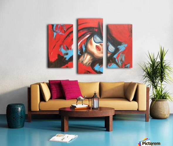 Wait For Me Canvas print