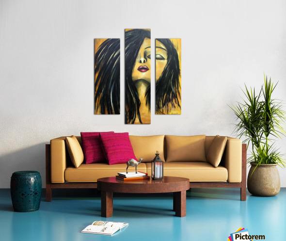L Extase Canvas print