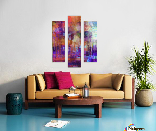 Abstract - Inadvertent Prevaricator Canvas print