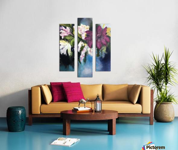 L Eclosion Canvas print