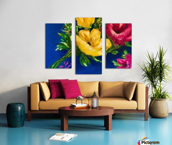 Me Too Fleurs Canvas print