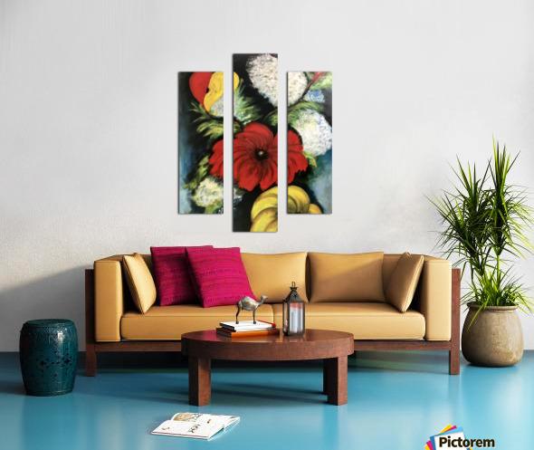 Des Fleurs pour Nathalie Canvas print