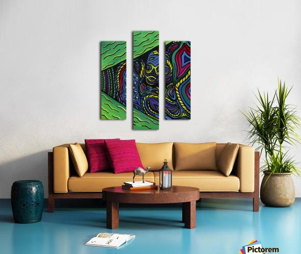 Lifelines Canvas print