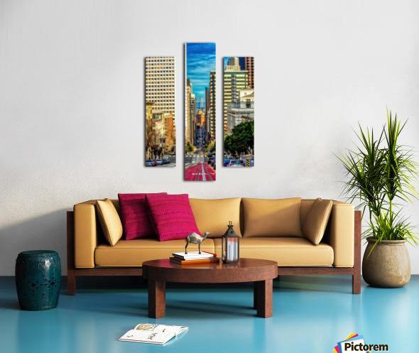 Diverse Canvas print