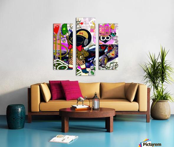 Millionaire Huracan EVO Canvas print