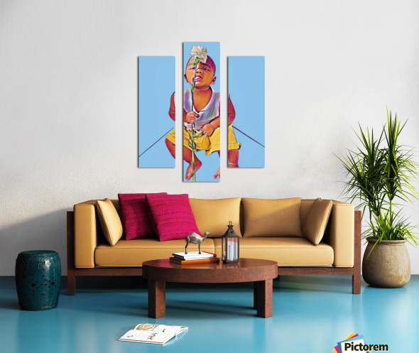 Mr Romantic Canvas print