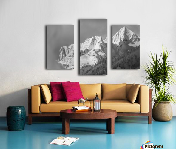 whitewater mountain 1 of 1 Canvas print