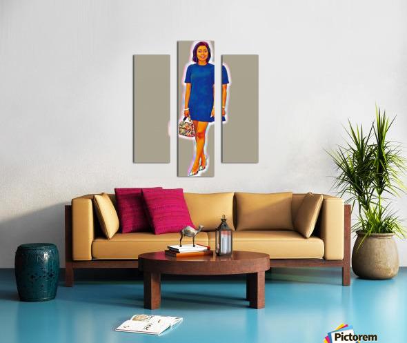 Suspense Canvas print