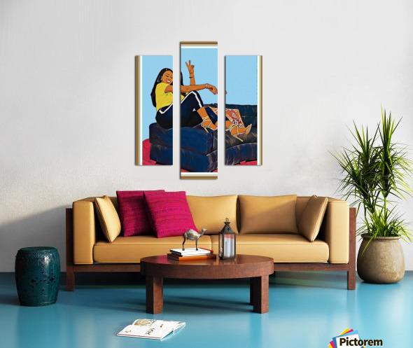 Super Splash Canvas print