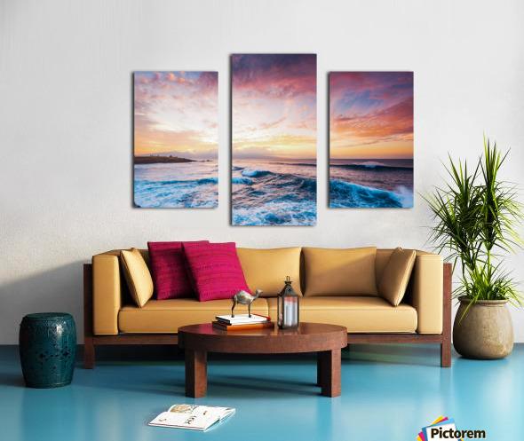Easy Evening Canvas print