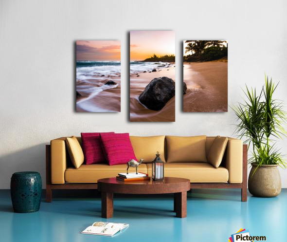 Smooth Shore Canvas print