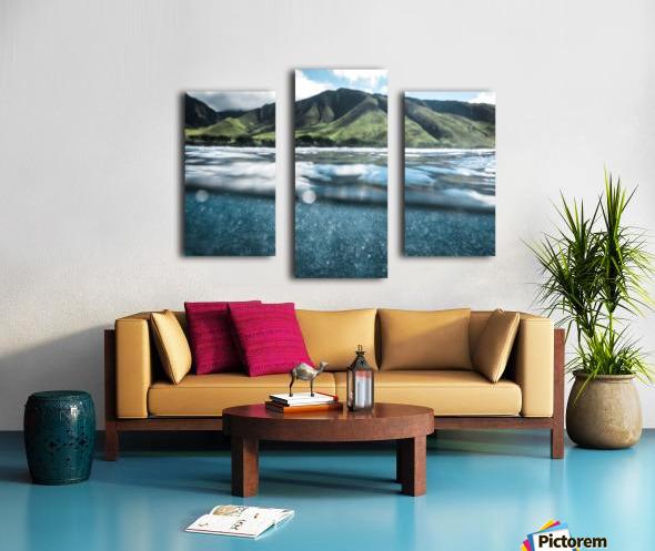Land and Sea Canvas print