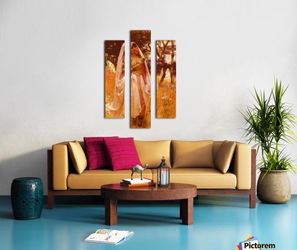 Campagne D Algiers Canvas print